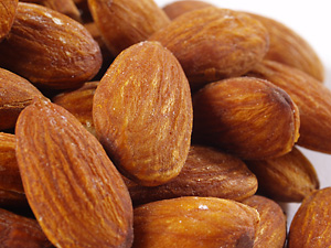 roasted almonds salted